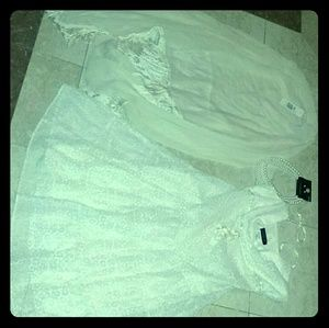 Lace Ivory Dress size Medium in Juniors